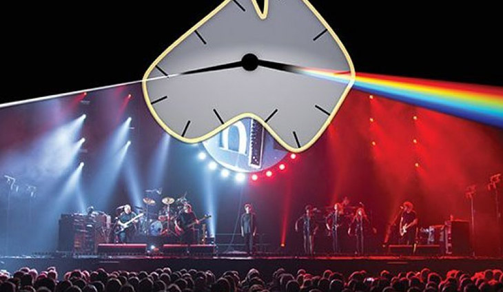 Australian Pink Floyd on a stage