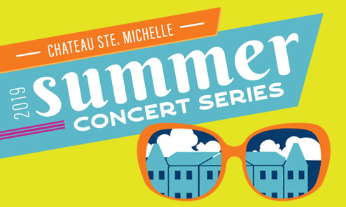 Summer Concert Artwork with sunglasses