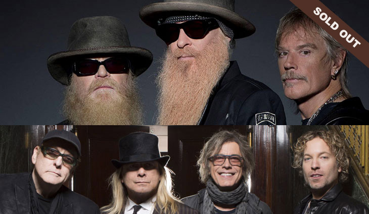 ZZ Top & Cheap Trick - Sold Out