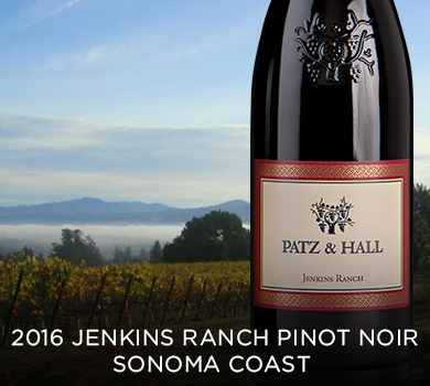 Patz & Hall Jenkins Ranch Pinot Noir