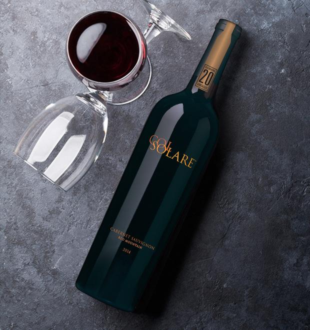 Bottle of 20th vintage Col Solare