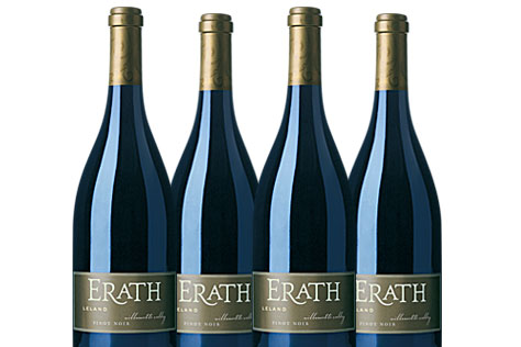 4 bottles of Leland Vineyard Pinot Noir