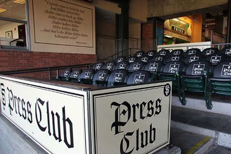 SF Giants Press Club