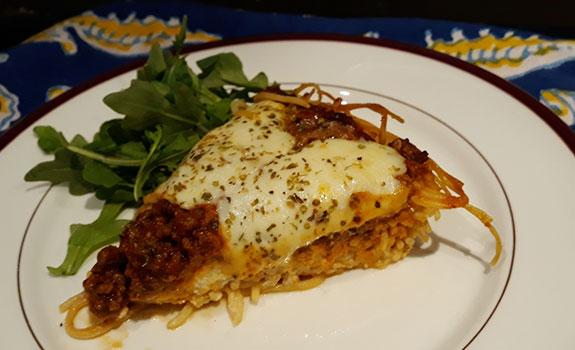 Chateau Spaghetti Pie
