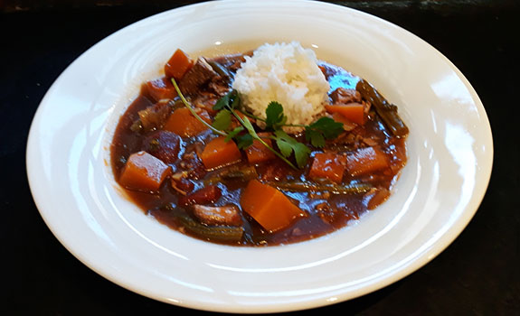 Filipino Style Pork Stew