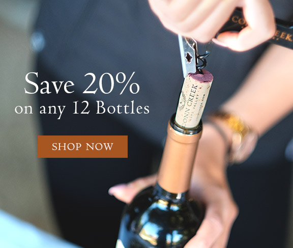 Save 20% on 12+ bottles