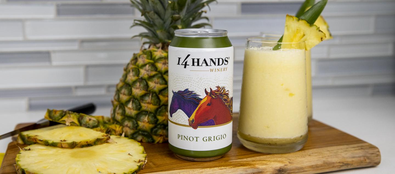 Pineapple Slushie