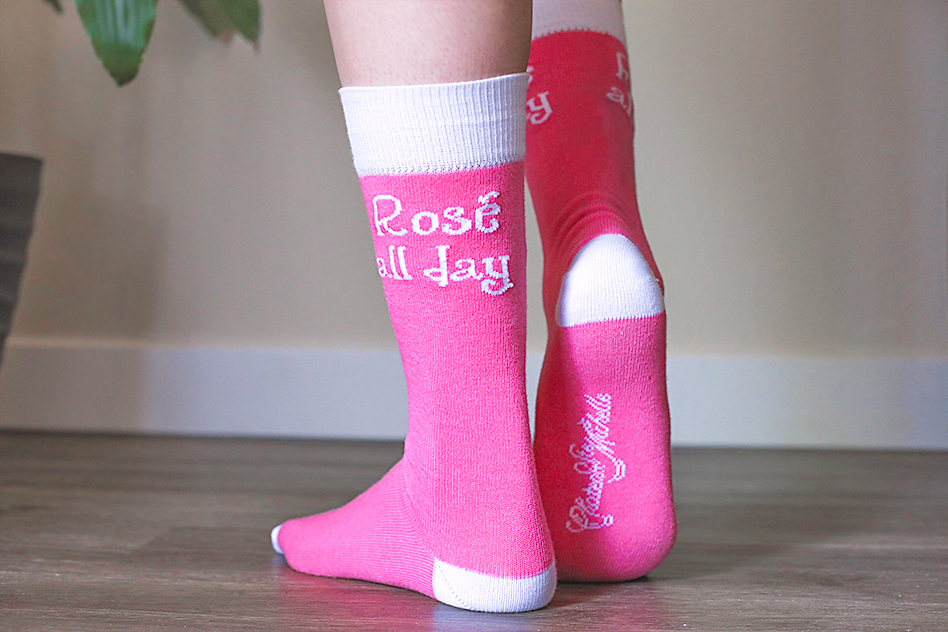 Rosé socks