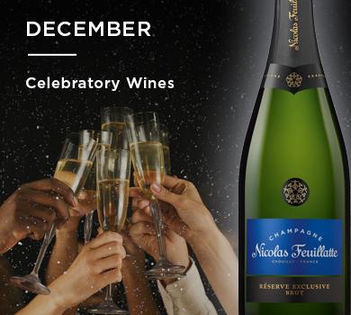 December: Celebratory Wines