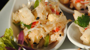 Crab and Asparagus Salad