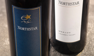 Bottles of Northstar wine