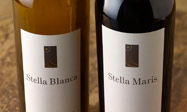Bottles of Stella Maris wine