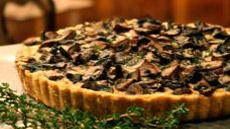 Mushroom-Red Wine Torte
