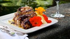 Grilled Duck with Hoisin-Orange Sauce