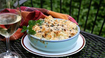 Cauliflower Gratin with Gruyere