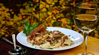 Papardelle with Chanterelles
