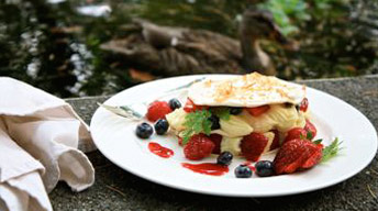 Fresh Fruit Napoleon