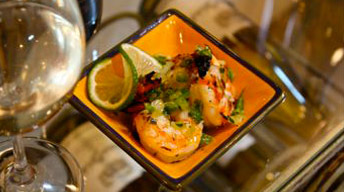 Jalapeno-Tequila Shrimp
