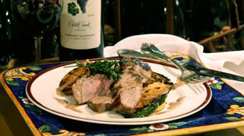 Tuscan Herb-Rubbed Pork Tenderloin