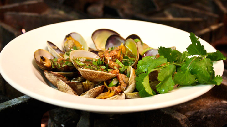 Spicy Clams with Ground Pork and Fermented Black Beans