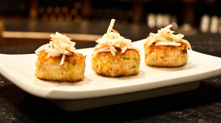Chateau Dungeness Crab Cakes