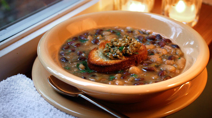 French Tarbais Bean Soup