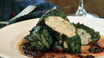 Potato-Stuffed Swiss Chard Rolls