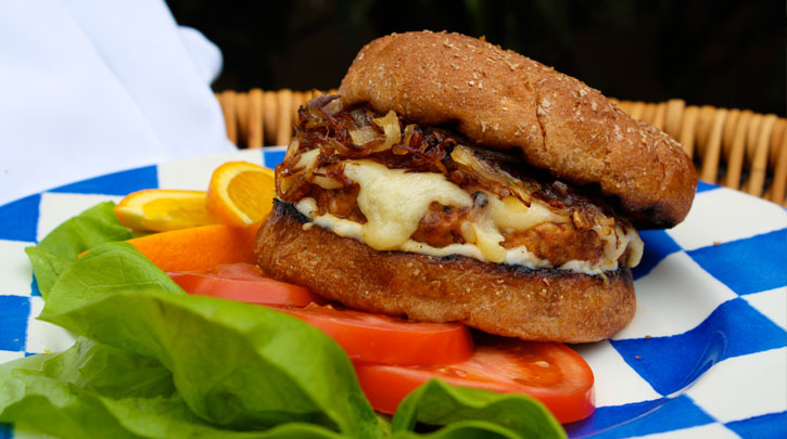 Chorizo Turkey Burger