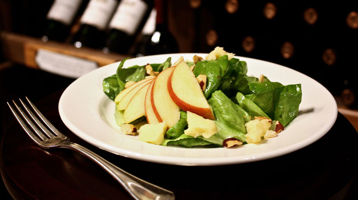 Washington Apple Salad with Hazelnuts