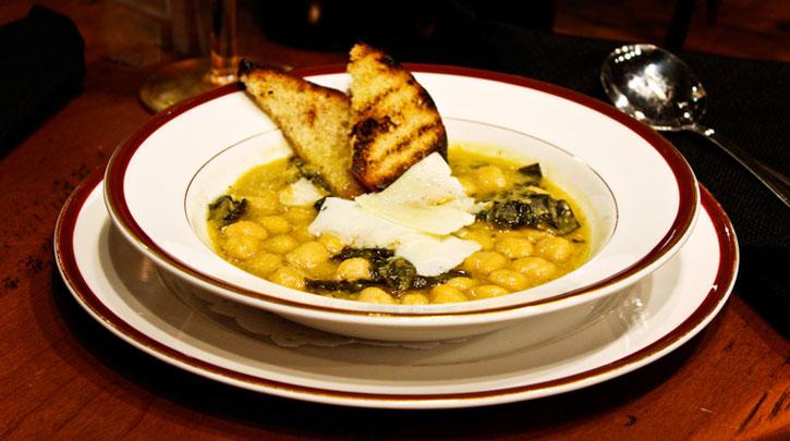 Chickpea & Cavolo Nero Soup