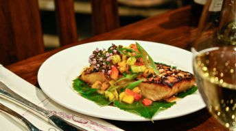 Asian Glazed Copper River Salmon