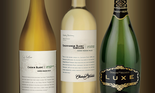 Club Blanc bottles