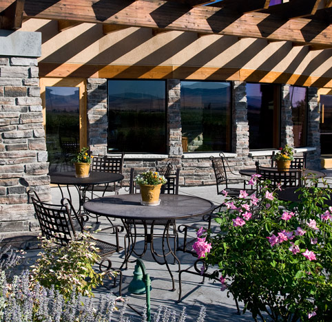 Outdoor patio at Northstar