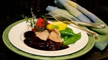 Pork Tenderloin with Hoisin Sauce