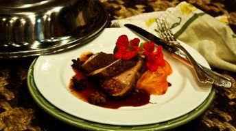Pork Tenderloin with Star Anise-Hoisin Sauce
