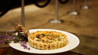 Stilton and Caramelized Onion Tart
