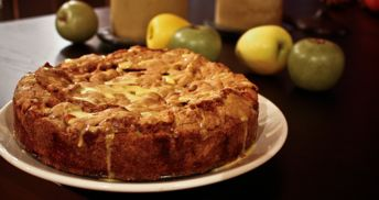 Grandma Audrey's Apple Cake