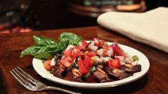 Grilled Marinated Portobello Mushroom