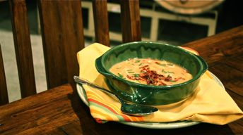 Cougar Gold-Potato Soup
