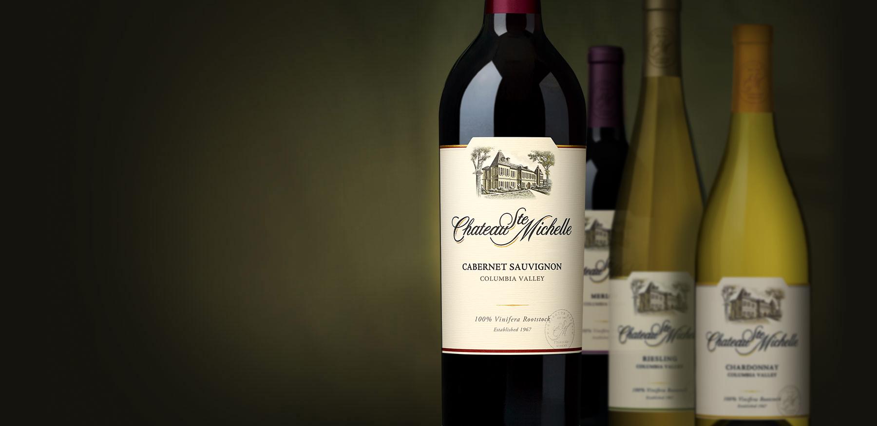 Columbia Valley bottles